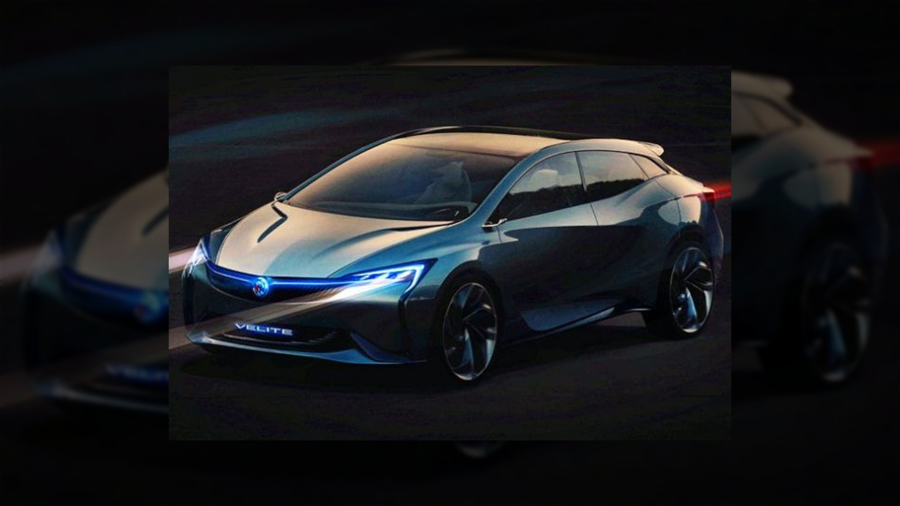 Buick Velite concept leaked official image