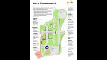 Conheça a mini-cidade criada para testar veículos elétricos e autônomos