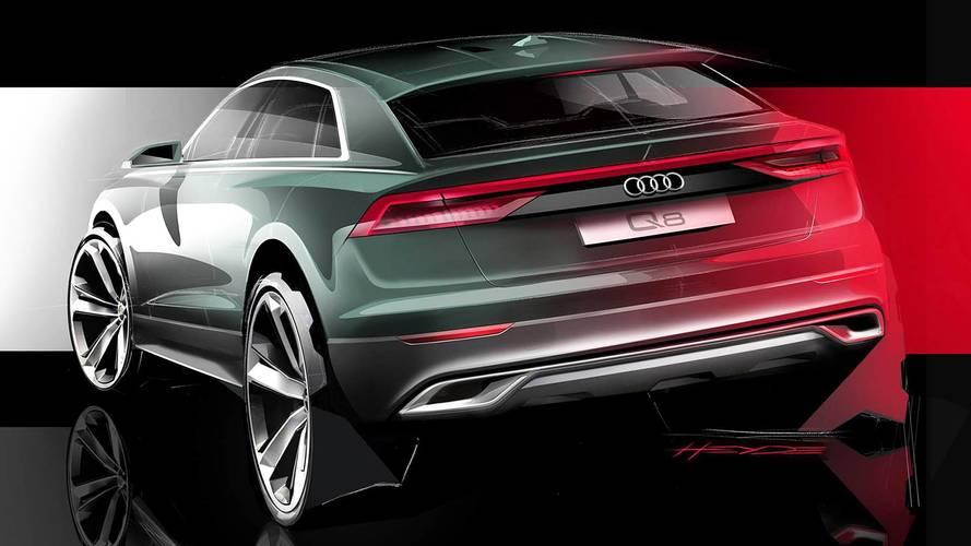 L'Audi Q8 svela il