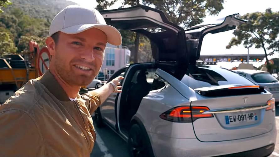 Nico Rosberg Drives Tesla Model X – Calls Musk Crazy