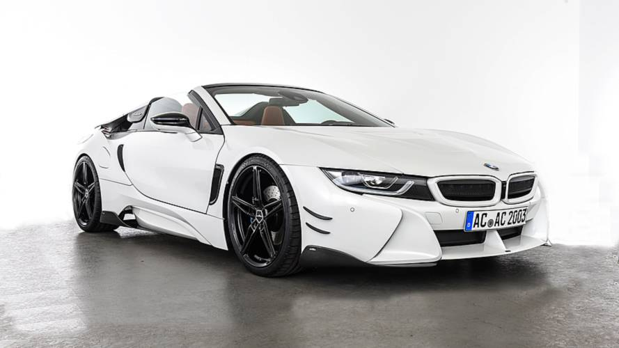 AC Schnitzer Makes The i8 Roadster Look Mean With New Bodykit