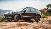 2019 Porsche Macan facelift testing in South Africa