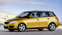 Skoda Fabia Estate - Artist Impression
