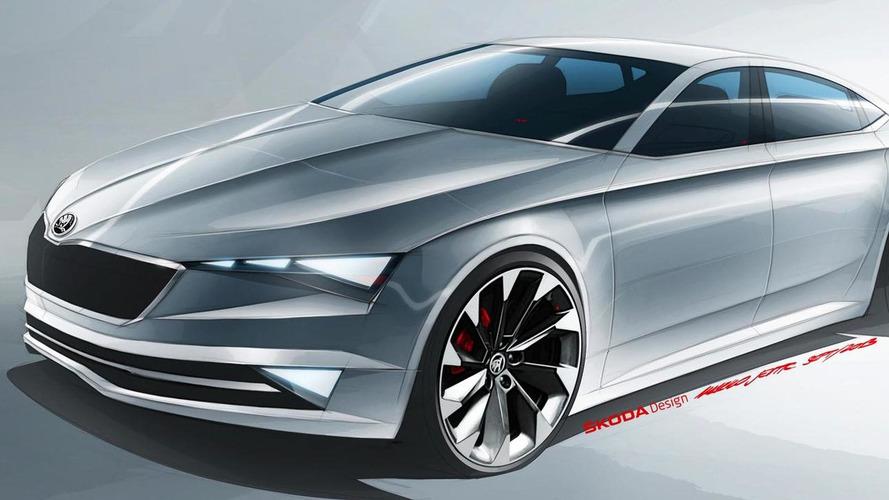 Skoda VisionC concept heading to Geneva, previews Octavia CC