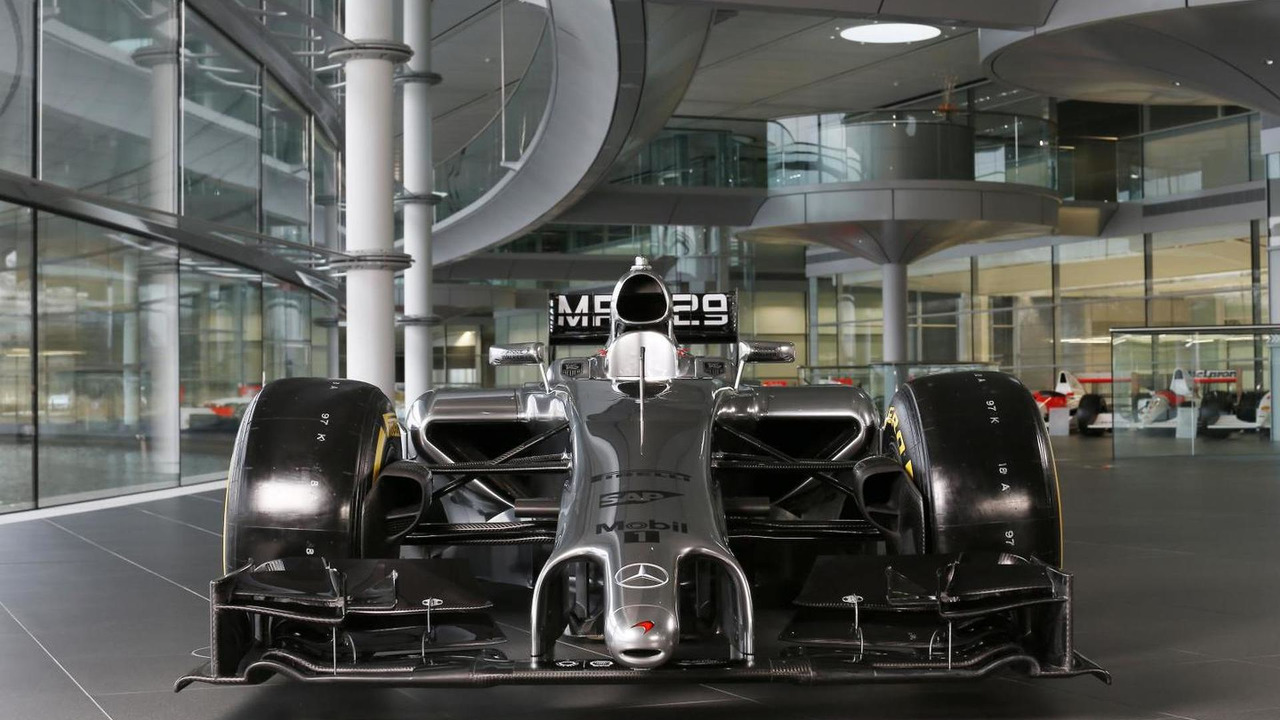 McLaren Mercedes MP4-29 2014 Formula 1 race car