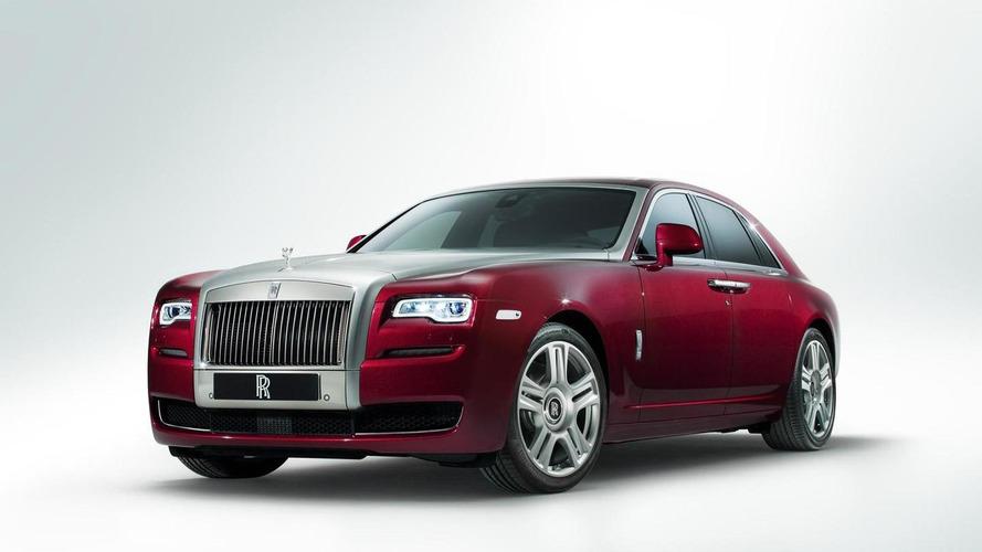 Rolls Royce Ghost Series II unveiled in Geneva with minor updates [videos]