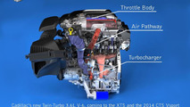 Cadillac twin-turbo 3.6-liter V6 engine 26.7.2013