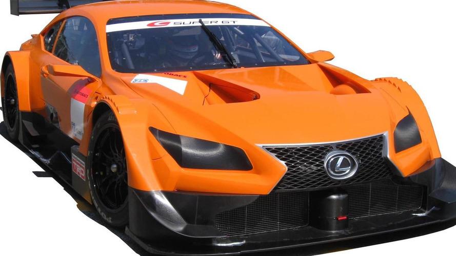 Lexus LF-CC racer revealed for Japanese Super GT