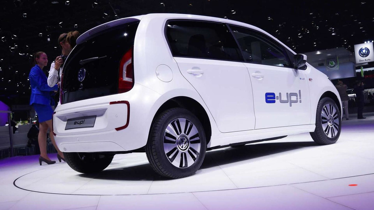 Volkswagen e-up! live at 2013 Frankfurt Motor Show