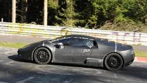 Lamborghini Cabrera testing on Nurburgring spy photo
