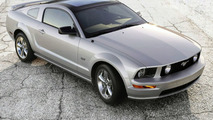 Ford Mustang with Glass Roof