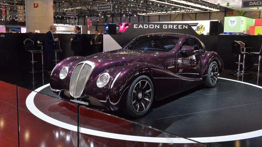Black Cuillin V12 Coupe reveal in Geneva redefines retro