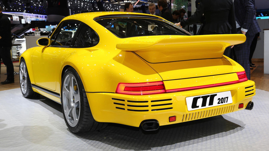 Ruf debuts fourth-gen CTR supercar with 700-hp Porsche engine
