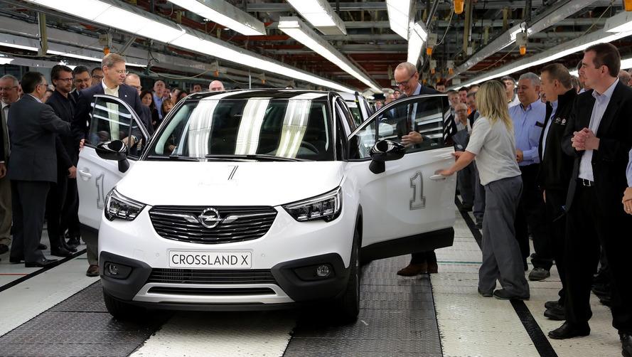 Opel Crossland X 2017: arranca la producción en Figueruelas