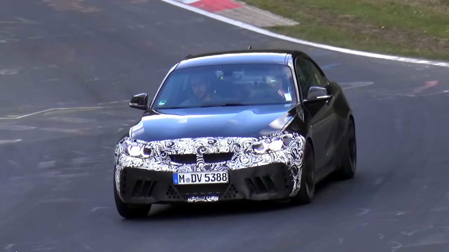 BMW M2 CS Spy Video