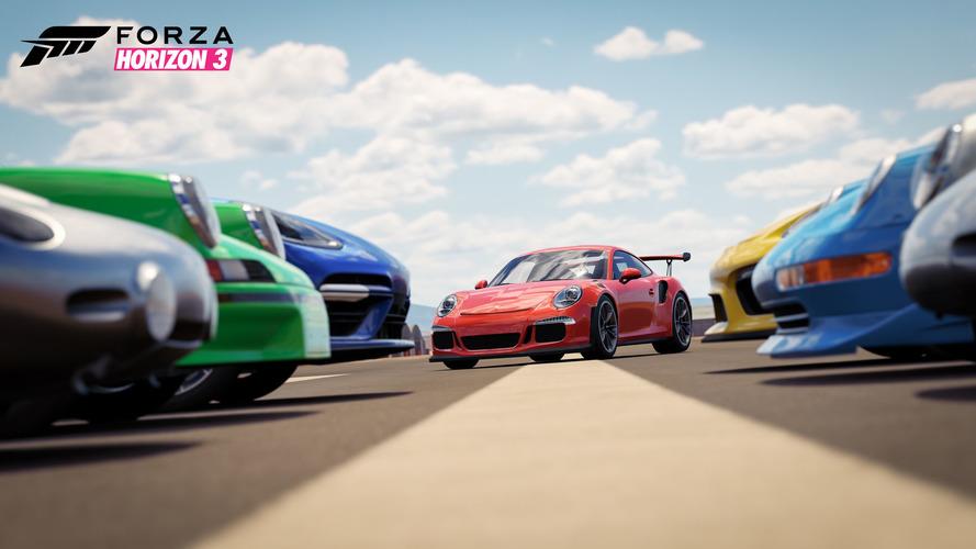 Forza ve Porsche uzun süreli anlaşma imzaladı