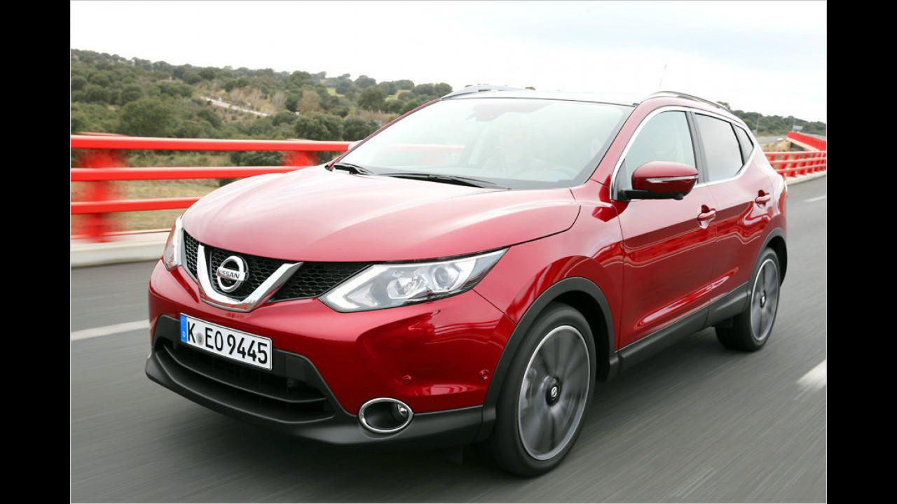 Platz 8: Nissan Qashqai