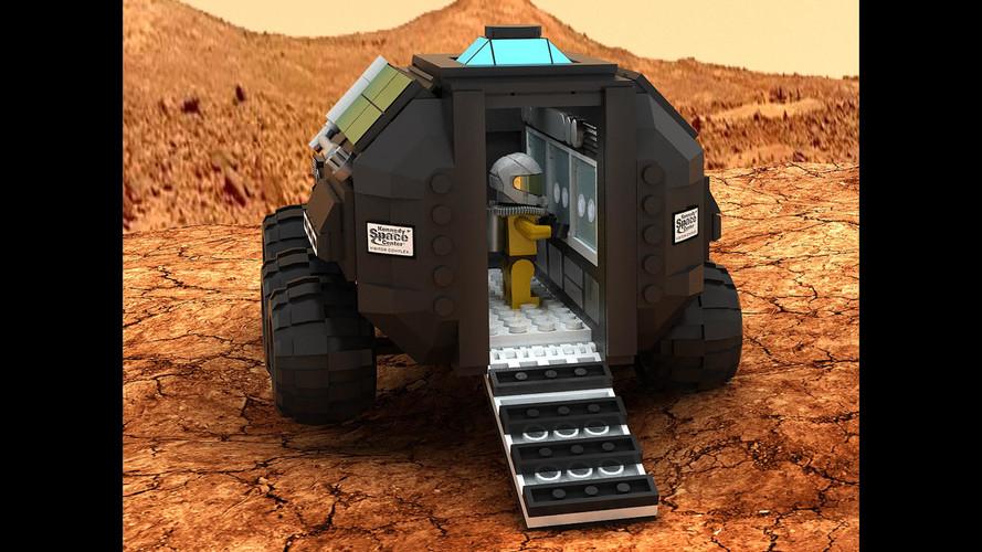 Lego Mars Rover Concept