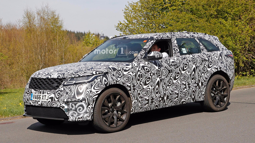 SVR-Tuned Range Rover Velar Spied At The Ring