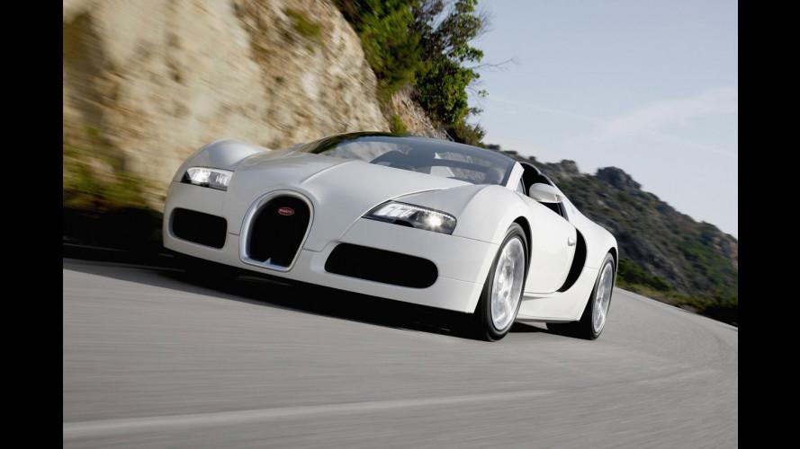 La Bugatti Veyron Grand Sport sarà Sang Noir?