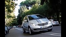 Mercedes Classe A E-Cell: il test ad H2roma 2011