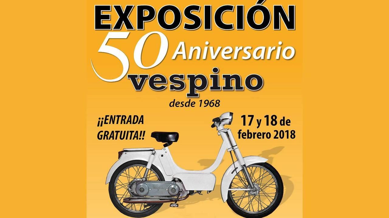 Exposición 50 aniversario Vespino