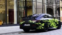 Mercedes AMG GT Coupé 2018 teaser