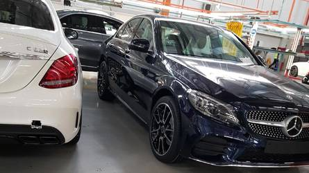 This Is The Subtly Revised Mercedes-AMG C43 Sedan