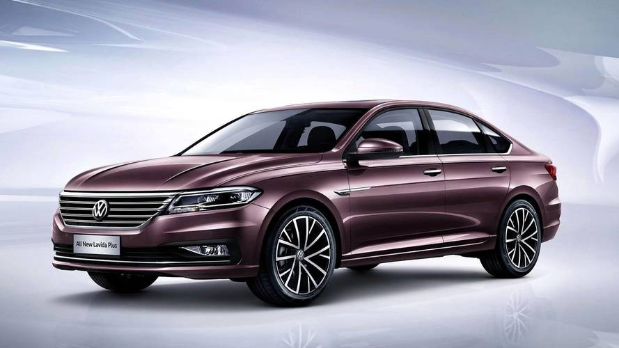 Bemutatkozott a kínai piacra készített Volkswagen Lavida Plus