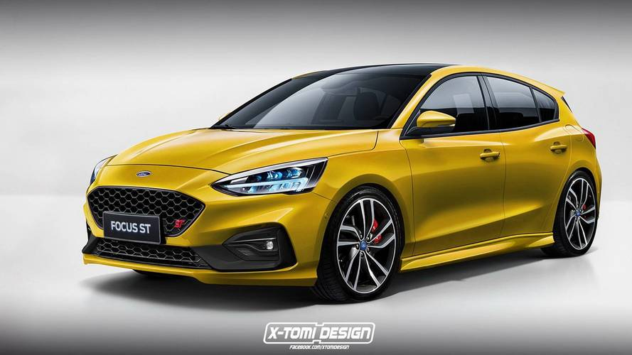 of course someone has already rendered the new ford focus st rs. Black Bedroom Furniture Sets. Home Design Ideas