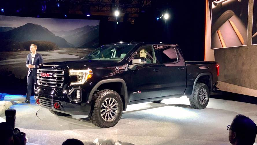 GMC Launches 2019 Sierra AT4 And Off-Road-Ready Sub-Brand