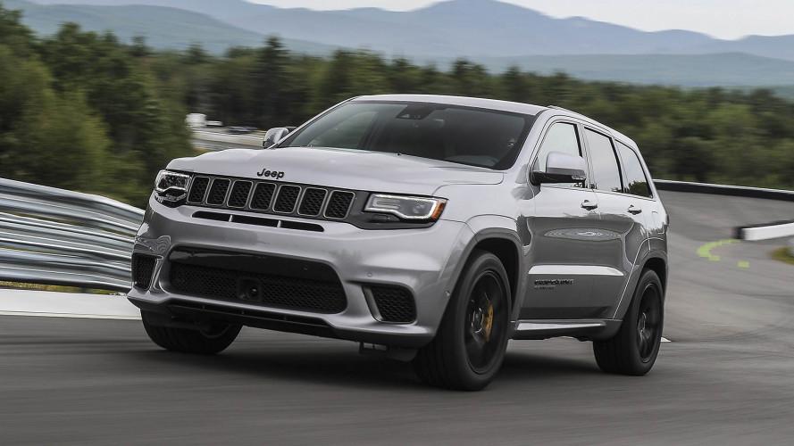 Jeep Grand Cherokee Trackhawk 2018: prueba en circuito de la bestia