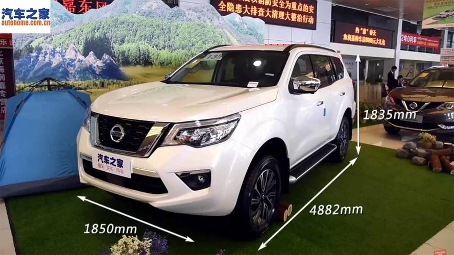 Nissan Terra, SUV da Frontier, revela novos detalhes em vídeo