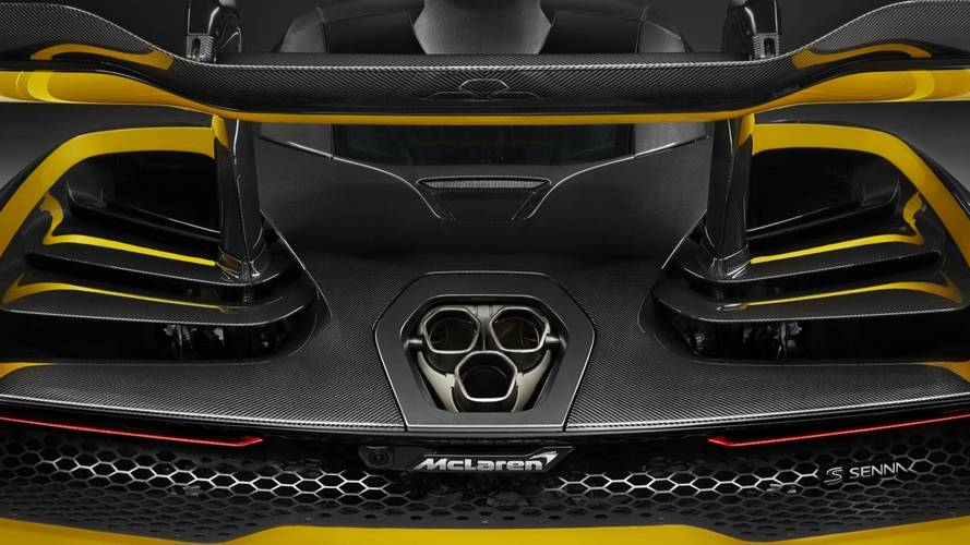 McLaren Senna exposes exotic carbon fiber body