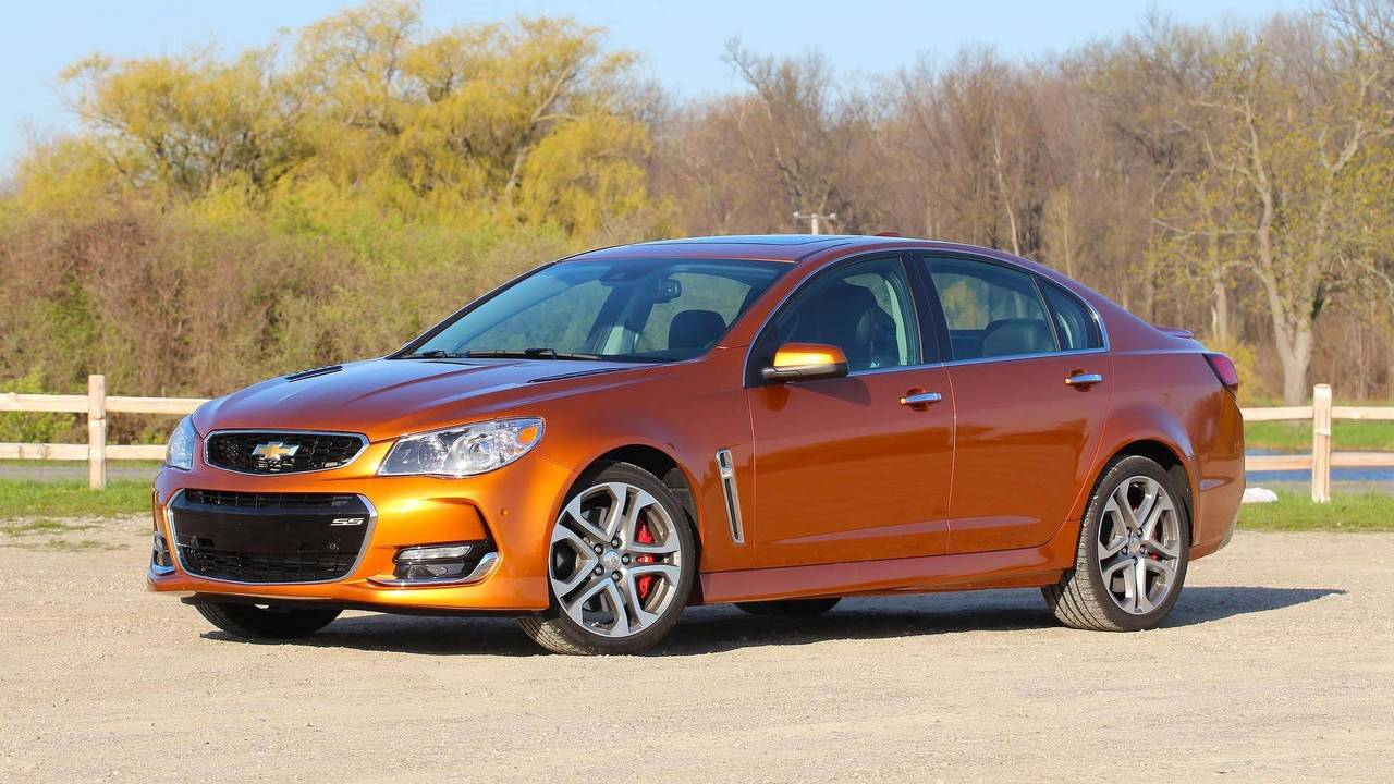 Honorable Mention: Chevrolet SS