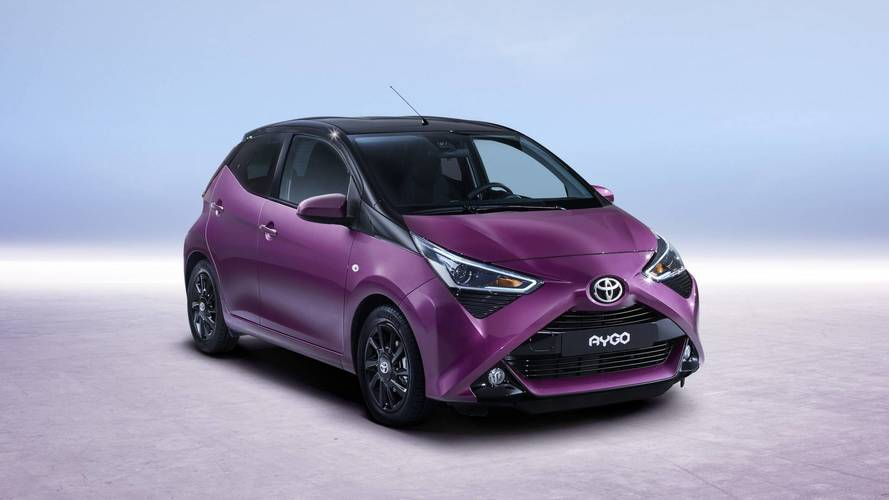 Fresh face for Toyota Aygo