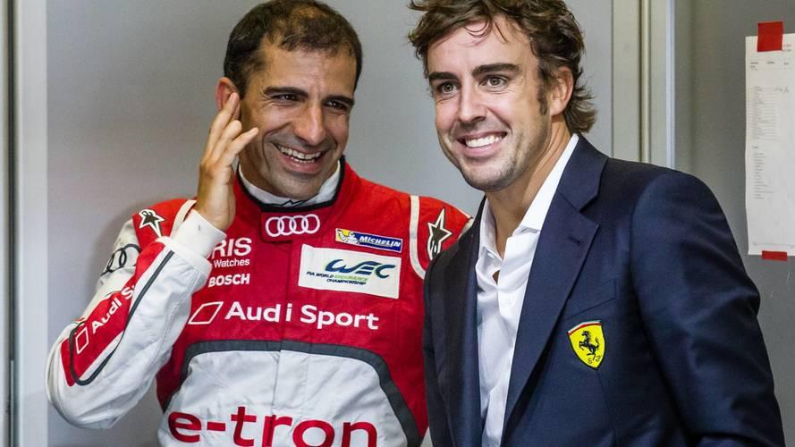 Gené bendice a su 'sucesor' en Le Mans: