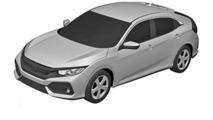 2017 Honda Civic hatchback production version (not confirmed)