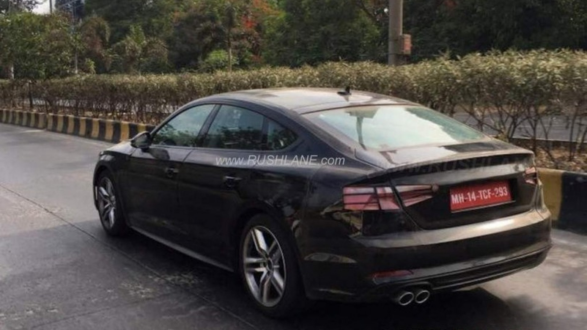 Audi A5 Sportback 2017 Auto Bild Idee A 3 Fuse Box Spied In India With Clever Disguise