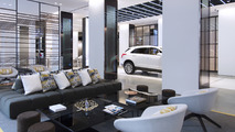 Cadillac House interior