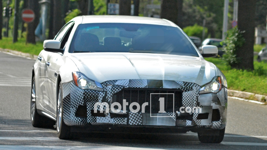 2017 Maserati Quattroporte spy photos