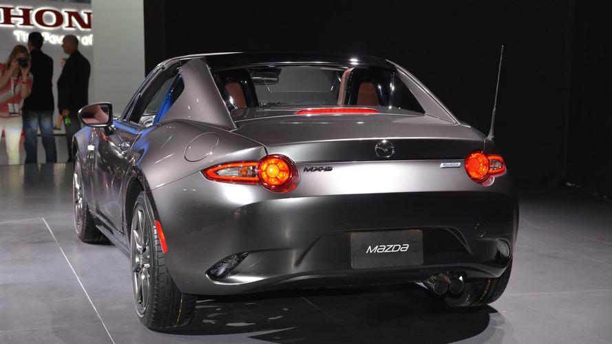 Mazda MX-5 RF live at New York Auto Show 2016