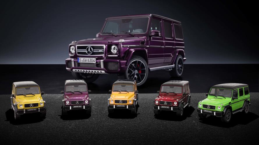 Artık odanızı çarpıcı renklerdeki Mercedes-AMG G63'lerle süsleyebileceksiniz