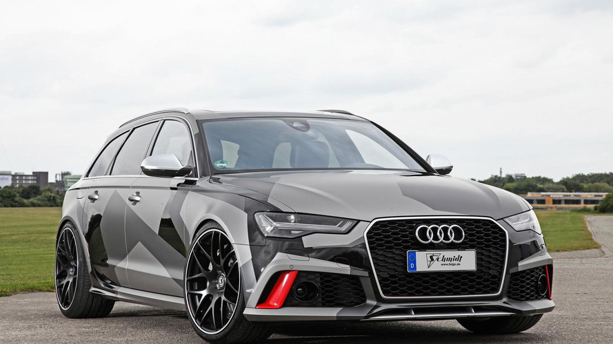 Audi RS6 Avant by Schmidt Revolution packs a mighty 695 PS punch