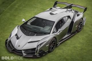 Wheels Wallpaper: Lamborghini Veneno on the Lawn