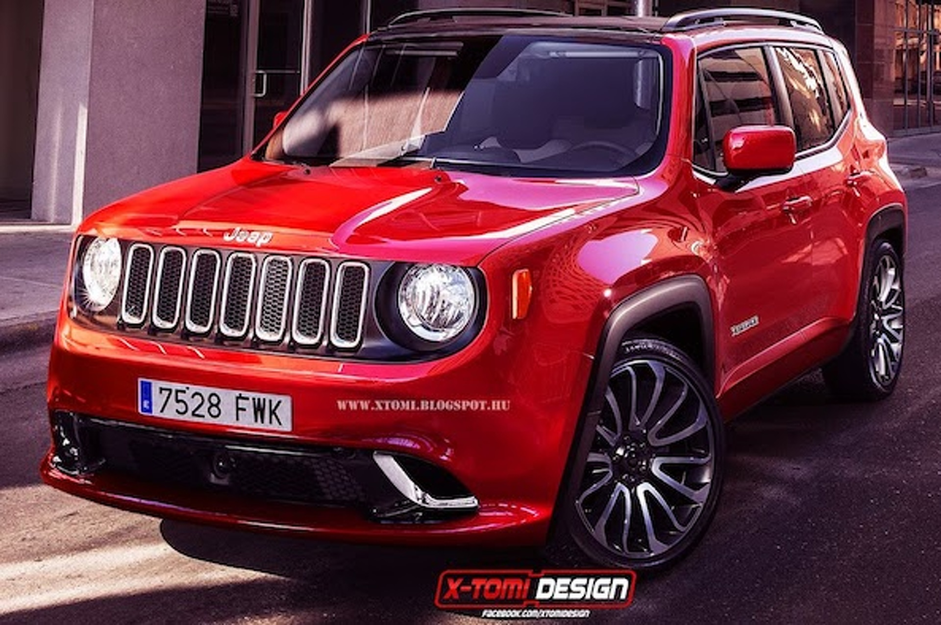 Jeep Renegade SRT Rendered, But Will Jeep Build It?