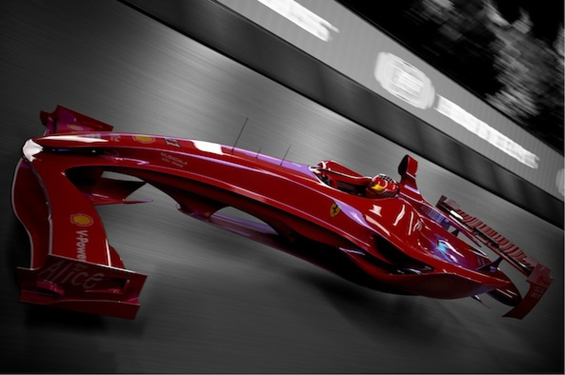 Ferrari F1 Hovercar Concept Foreshadows The Future Of