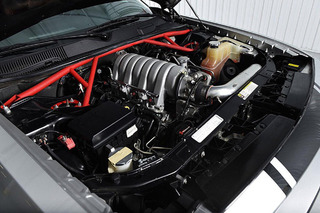 This Mean Dodge Challenger Packs Two Turbos and 700-HP