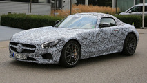 Mercedes-AMG GT C Roadster spy photo