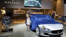 Maserati Quattroporte live in Detroit 14.1.2013